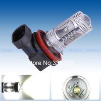 SD Cree XPE LED H11 25W White Lamp car Fog Head Bulb auto Vehicles parking Turn Signal Reverse Tail Lights car light source