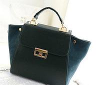 Hot ! 2014 new women handbags fashion handbags Messenger Handbag frosted smiley lock bag big bag hand.
