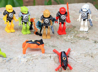 Super Heroes 10511-10515 Blocks Factory 6.0 Jumping EVO STORMER FURNO ROCKA BREEZ Figures Bricks Toy 5pcs/set