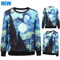 2014 Women Autumn Hoodies Full Pullovers Sweatshirt Print Streetwear Tracksuit Contrast Color Sport Suit
