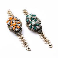 fashion bracelet for women 2014 hot selling New retro flower nightclub female bracelet Upscale atmosphere