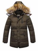 Children's winter down coat military models for boys,down hoody wind coat three quarter jacket,Kids'Clothing,YRF-003FreeShipping
