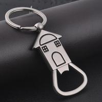 10pcs/lot 2014 new creative bottle opener key chain keychain key ring novelty items logo trinket party items souvenir goods
