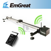 1m Greenbull X7 Single motor Version Wireless Electrically Controlled Track Slider Dolly for DSLR Video Time-lapse Shooting
