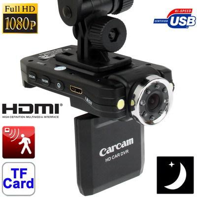 "2.0"" 1080P Car Camera Vehicle DVR 8 IR 2 LED Recording Motion Detection HDMI Anti-shake Micro SD/TF Card Wide Angle 140 Degree(China (Mainland))"
