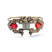 fashion bracelet for women 2014 hot selling Big atmosphere with red stones bracelet accessories restoring ancient ways