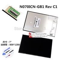 INNOLUX 7.0 inch HD TFT LCD Screen N070ICN-GB1 WXGA 800*1280(RGB)