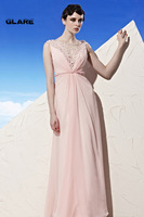 2014 New custom dress sexy pink prom dress bridesmaid dress formal dress propose a toast Size 2 4 6 8 10 12 14 16