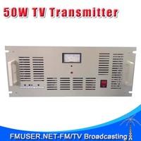 FMUSER FM-50T 50W Analog TV transmitter UHF/VHF PAL/NTSC