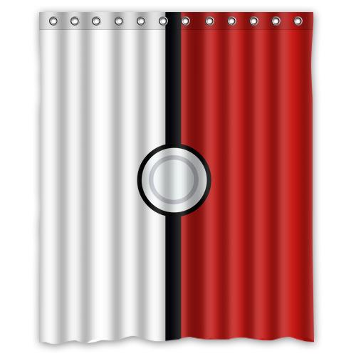 "Custom Funny Shower Curtain - Design Pokemon Shower Curtain 60"" x 72 ..."