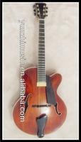 yunzhi fully handmade cutaway jazz guitar