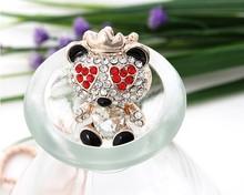 Cute heart bear pendant long necklace/fashion necklaces womens jewellery accessories wholesale/colares bijuterias/collier/bijoux
