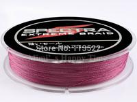 4 strands 300M Purple PE Dyneema Braided Fishing Line 10LB 0.12mm 328 Yard Spectra Braid