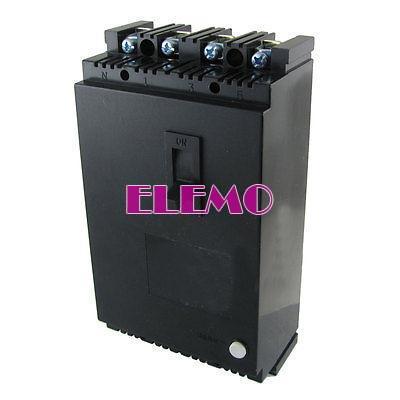 380v ac 100 ampères 4 pólos rccb 4p corrente residual disjuntor operado(China (Mainland))