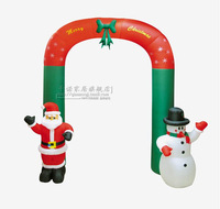 Hot sell Christmas decorations scene layout 2014 christmas gifts 270cm air inflation archway