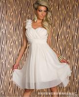 Free Shipping 2014 New Bridesmaid Dress Short Paragraph Bridesmaid Group Dinner Sisters Skirt Women Dress Evening Dress