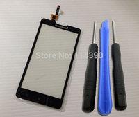 New Touch Screen Digitizer panel glass Lens For Lenovo P780 Free shipping +tracking nember