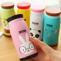 2014 New Arrival Korean style Animal Belly Cup 250ml,Woman/Kids Vacuum Flasks,Water Bottle,Creative Stainless Steel Vacuum Cup