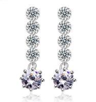 new item rhinestone drop earring for women fashion earrings 2014 fashion earing for women wholesale drop shipping A313