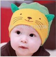 free shipping Baby caps kids beanies Boys'&Girls' hats Skullies/ Infant Toddler Skull elastic hat/1-3Years old 50pcs/lot supply