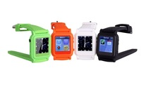 Free shipping wholesale black mp4 watch with 4GB memory