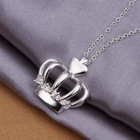 Free Shipping 925 Silver Necklaces & Pendants,Fashion 925 Sterling Silver Necklace,Wholesale Fashion Jewelry,WJKN356
