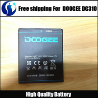 Wholesale - 100% High Quality Original 2000mAh Li-ion Battery For DOOGEE DG310 Smartphone Free shipping