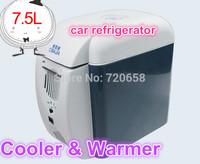 2014 New 7.5L 12V Portable Auto Mini car fridge Freezer car refrigerator box Cooler & Warmer Car & Home use