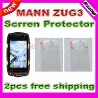 Original MANN ZUG3 zug 3 Original  screen protector Dual Core Quad core A18 Dual Sim android phone 2pcs free shipping