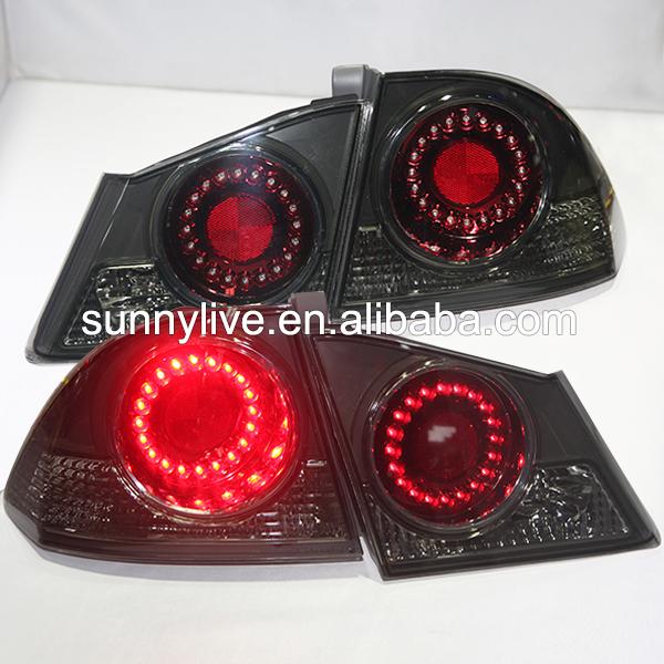 For HONDA Civic LED Tail Lamp 2006 to 2010 Year Smoke Black Color DB(China (Mainland))