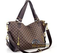 Women handbag 2014 shoulder bag lady bag big bag Versatile bag free shipping LUV0011