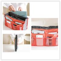 Versatile Travel Storage Bag Double Zipper Thickening Cosmetic Bag Toiletry Kits Package Caixas Organizadores Makeup Organizer