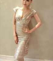 Sexy long backless sequin dresses gold evening luxury sequined bandage dresses colorful short silver white sequin party dresses