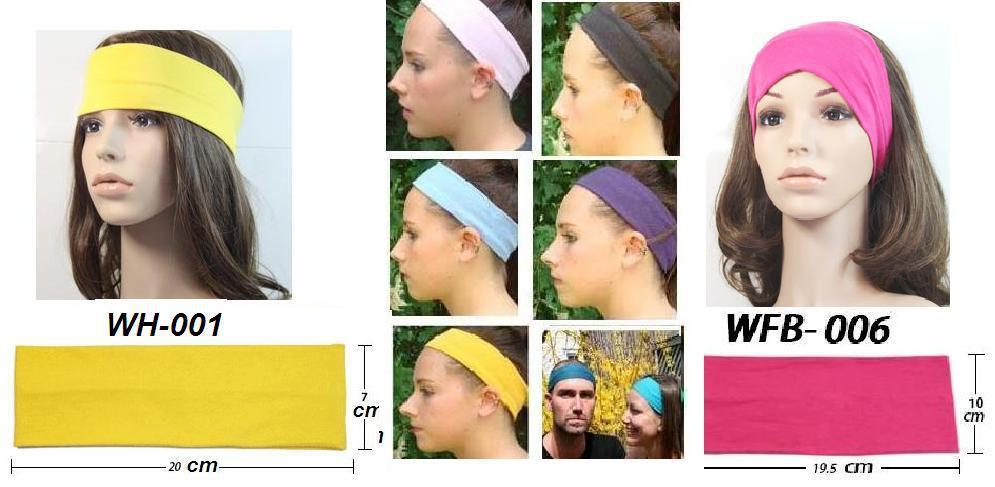 Classic men or women yoga sport headband wholesale,fabric Double layer cotton sweatband hairbands EMS/DHL free shipping(China (Mainland))