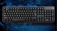 Best selling Game Black keyboard Office USB  Mute Waterproof computer keyboard  free shipping!!