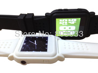 New!wholesale Black MP4 bluetooth watch
