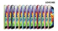 1 Piece Original Love Mei 0.7mm Ultra-thin Luxury Metal Bumper for Samsung Galaxy S5 i9600,Free Shipping