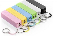 2600mAh perfume mini Power Bank universal USB External Backup Battery for iPhone 4s 5 5c Mobile power for samsung I9500 s3 note2