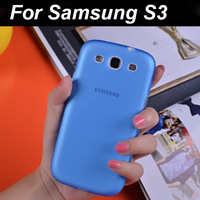 0.3mm Ultra Thin Slim Matte Frosted Transparent Clear Soft PP Cover Case For Samsung Galaxy S3 I9300.Free shipping.