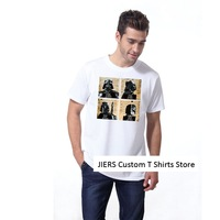 2014 High Quality Men's 100% Cotton Short Sleeve T Shirts Star Wars Logo Custom Printed Personal Casual male female Tee Shirts