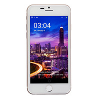 """JDT A6 Android 4.2 MTK6582 Quad Core Mobile Phone 1.3G MHz 512MB+8GB 4"""" IPS Screen  wifi GPS 3G Camera 5MP+1MP For IPhoine 6"""
