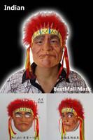 Indian Latex mask halloween figure mask dance party mask masquerade masks