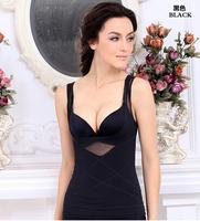 100pcs/lot  free shipping Women Body Slimming Breast Lift Up Camisole Shaper Vest Tops Underwear Shapewear tingmei