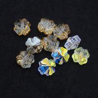 Free shipping 2014 new Clover design  2 colors 8/12mm  20pcs/lot  original factory swa austrian high quality crystal beads sj01