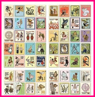 wholesale 400pcs Dorothy Vintage Stickers decoration paper sticker scrapbooking products album decor Diy crafts S2977
