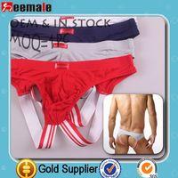 Factory Selling!!! Calzoncillos Hombre Jockstraps Men Gay Underwear Sexy Penis Pouch Cuecas SS816
