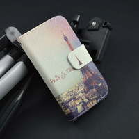 Luxury cute Prit Pattern Good Leather Flip Case For Asus ZenFone 5 Cover ,wallet and Id  Card Holder,Free Shipping