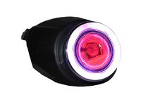 Car Angel Eyes Fog Lamp + Devil Eyes Fog Lights Daytime Running Lights DRL for Ford Fiesta 2007-2012 -2 PCS