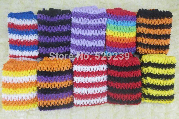 "Free Shipping Wholesale Halloween10"" Crochet Tutu Tube Top,10 pcs/lot(China (Mainland))"