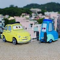 100% TOMY/TOMICA ORIGINAL PIXAR CARS*BRAND NEW 1:55 SCALE DIECAST*METAL MODEL TOY CARS FOR KIDS*CARS-LUIGI & GUIDO